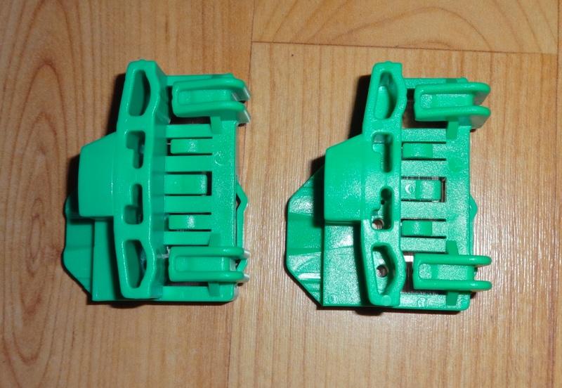 Audi, A4 Variant, VW Passat B5 Stikla (logu) pacēlāju (pacēlājs) remkomplekts - šofera puse. Audi A4 Avant / VW Passat B5+ Logu tūrētāja remkomplekti - kreisa puse. (VW no 1996-2004), Audi no 1995-12.2001gadam  20.00